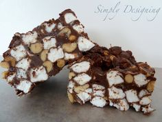 Simply Designing with Ashley: Rocky Road Fudge