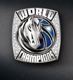 Dallas Mavericks fan ring by Jostens