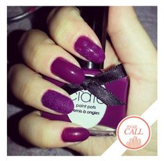 Velvet nails are right on trend for spring #NailCall