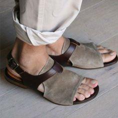 male sandal