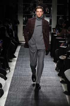 Joseph Abboud Fall 2018 Menswear Fashion Show Collection