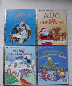 4 Vintage Christmas Stories A LITTLE GOLDEN BOOK by Twiceasgood, $12.50