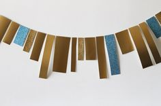 How to Make a Gorgeous Paper Garland in Under 10 Minutes | Brit + Co.