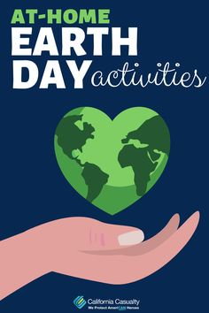 Ways you and your child can celebrate Earth Day at home!
