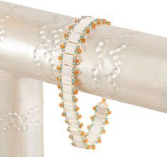 Free Beaded Bracelet Patterns | The following beads are enough to stitch a bracelet band that is about ...