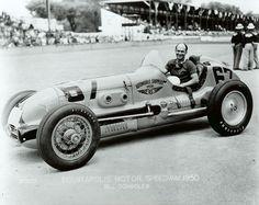 1950 Indy 500 - Bill Schindler