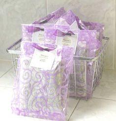 Dryer Bags  #Lavender #Laundry #DryerSheets