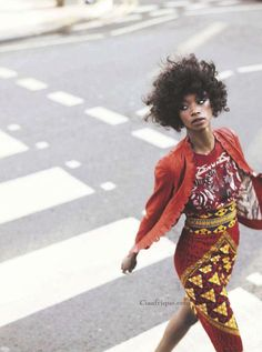 It is not african style. It's just style (with african fabrics).