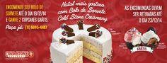 Cold Stone Creamery Natal 2014
