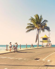 Summertime vibes in Coolangatta . Road Trip Photography, Sydney, Summertime, Street View, Lost, Australia, Beach, Travel, Instagram