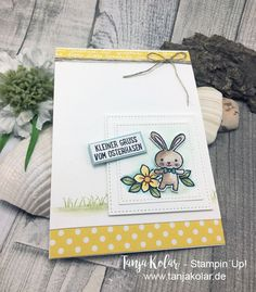 Frische Farben zu Ostern – Kreativ mit Tanja – Workshops und Shop für Stempel, Stanzen, Papier
