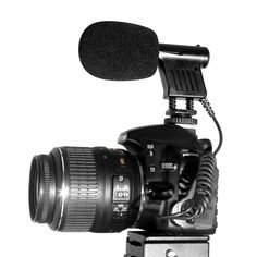 Professional Directional Video Condenser Microphone Mic for DV (D)SLR Camcorder
