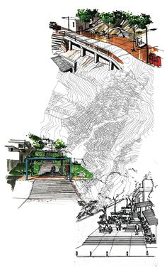 Morar Carioca, favela urban spaces