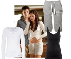 bella swan casual...add the classic gray baggies, and boom!!