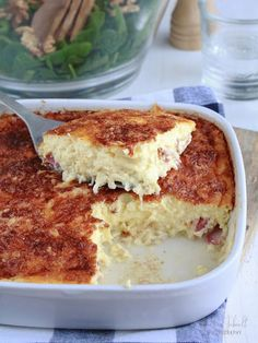 Quiche sans pâte jambon-fromage - Petit Bec Gourmand - Petit Bec Gourmand Tasty, Yummy Food, Food Inspiration, Food Videos, Meal Prep, Entrees, Brunch, Food And Drink, Sweets