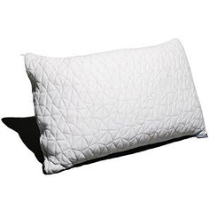 Coop Home Goods - PREMIUM Adjustable Loft - Shredded Hypo. Coop Home Goods - PREMIUM Adjustable Loft - Shredded Hypoallergenic Certipur Memory Foam Pillow with washable removable cooling bamboo derived rayon cover -King