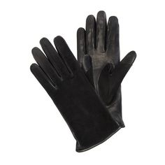 Lanvin Lambskin Gloves ($390) ❤ liked on Polyvore featuring accessories, gloves, black, lanvin, lambskin gloves and lambskin leather gloves