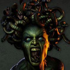 Medusa | Medusa la seductora | Wiccareencarnada's Blog