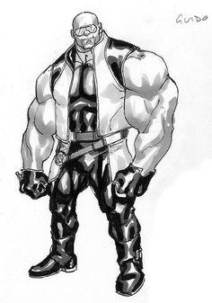 Strong Guy (X-Factor) by David Yardin Marvel Fan, Marvel Comics, Strong Guy, Marvel Entertainment, Custom Action Figures, Character Modeling, Marvel Legends, Gi Joe, X Men