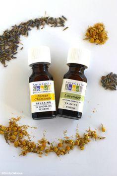 DIY Aromatherapy Pillow Mist & 10 Ways to Sleep Better | StrictlyDelicious.com