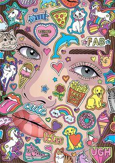 Fionna Fernandes Illustrator - Portraits, Fashion, Editorial and Advertising Illustrations