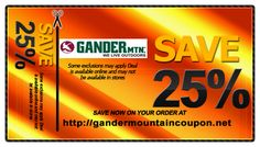 graphic about Gander Mountain Printable Coupon named 7 Great Gander Mountain Coupon pictures inside of 2013 Gander