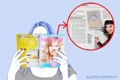 Skutki uboczne blogowania, czyli Freelancerka w prasie :) #blogowanie #blog #fejm