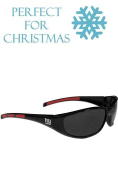 1e61e082b3b5 These sporty looking New York Giants Wrap Sunglasses have the New York  Giants logo screen printed