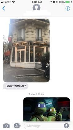 On a trip to France my friends Mom found Marinette's bakery!