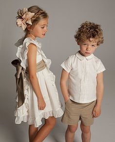 Fashion Forward children's boutique that carries only unique or high-end name brand kids clothing & accessories from designers all around the world. Fashion Kids, Little Girl Dresses, Girls Dresses, Flower Girls, Flower Girl Dresses, Baby Kind, Classic Outfits, Kid Styles, Kids Wear