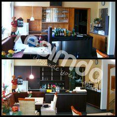 Badezimmer #renovieren #rot #Möbel #Folie #upcycling ... | {Folie küchenfront 32}