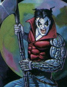 Reaper was an original member of Stryfe's MLF