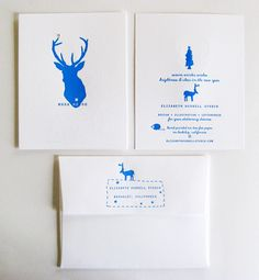 Holiday Cards / One Color Letterpress
