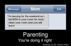 Funny Moms showing how to parent right. You will love it!