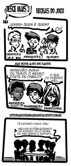 RABISCOS ENQUADRADOS: DESCE MAIS 3! Nº 191: RECAPITULANDO