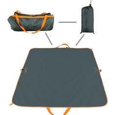 Waterproof & Sand proof Outdoor Blanket, Navestar Multipurpose Durable Polyester Beach Mat & Foldable Tote 2 in 1 for Stadium Picnic Camping Grass. DURABLE & STURDY - Made of high quality polyester and PVC waterproof coating,it is much more durable and sturdy than nylon blankets. MOISTURE-PROOF & SAND-PROOF & PUNCTURE RESISTANT - A perfect polyester blanket for picnic and beach.Not only can it keep your clothes,food and other items clean and dry but it can also protect your skin from bugs...