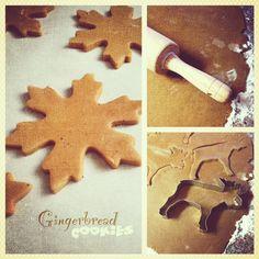 Spiced Gingerbread Cut-Out Cookies - Alaska from ScratchAlaska from Scratch