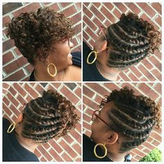 #Flattwist updo for natural OR relaxed beauties, styled by @Shavetta! || BOOKING: 803-451-0225 or www.styleseat.com/ShavettaBelton2