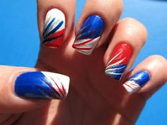 Funky Nail Art Ideas | For woman who desire long beautiful nails, they can go for gel nails ...