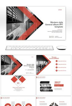 Summary Of High Quality Ppt Template For European And American Wind Business Logo Design, Site Design, Layout Design, Mise En Page Portfolio, Portfolio Design, Powerpoint Design Templates, Ppt Template, Company Profile Design, Bussiness Card