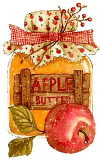 Apple Butter in a jar Decoupage Vintage, Clipart, Jessie Willcox Smith, Foto Transfer, Pintura Country, Country Paintings, Paper Crafts, Diy Crafts, Apple Butter