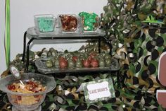 Como Theme with Green Army Men Birthday Party Ideas | Photo 1 of 15 | Catch My Party