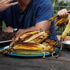 Honey-Buttered Grilled Corn