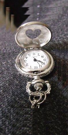 Hearts pocket watch