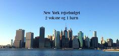 New York rejsebudget 2 voksne og 1 barn