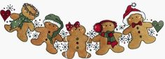 Molly Blooms Stamp Gingerbread Garland