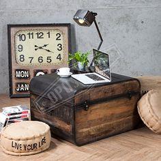 【OPUS LOFT】復古工業風 環保回收木 箱型 咖啡桌為純粹的事物,賦予獨特的價值,讓你的想像豐富於居家空間中