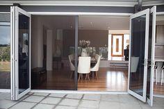 58 Ideas For Security Screen Door Makeover Window French Doors With Screens, Windows And Doors, Stacker Doors, Retractable Screen Door, French Doors Bedroom, Style Deco, House Doors, Door Makeover, Folding Doors