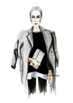 . #stylediary #style #fashion# fashionillustration #outfit #look #fashiondiaries