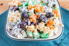 How to Make Your Own Rainbow Stove-top Kettle Corn - Sustaining the Powers